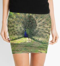 Proud Peacock Mini Skirt
