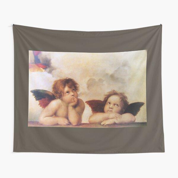 Raffaello - Madona Sistina Angels Tapestry
