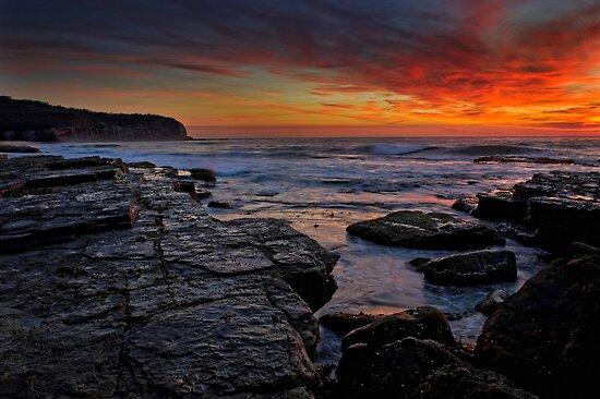 Firey Dawn 2 by Ian English