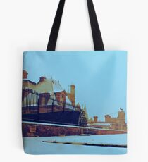 Chateau d'Anet Silver Snow Tote Bag