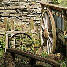 Old Cart and cogs by Ken Humphreys