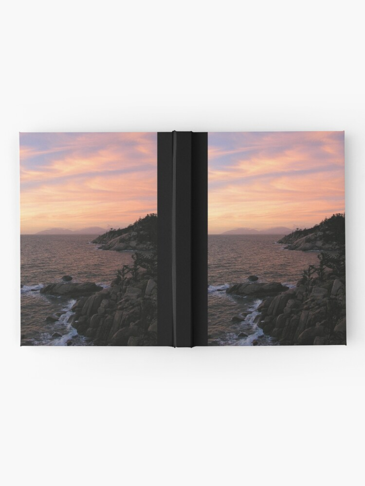 Alternate view of Ocean-Rock-Sky Hardcover Journal
