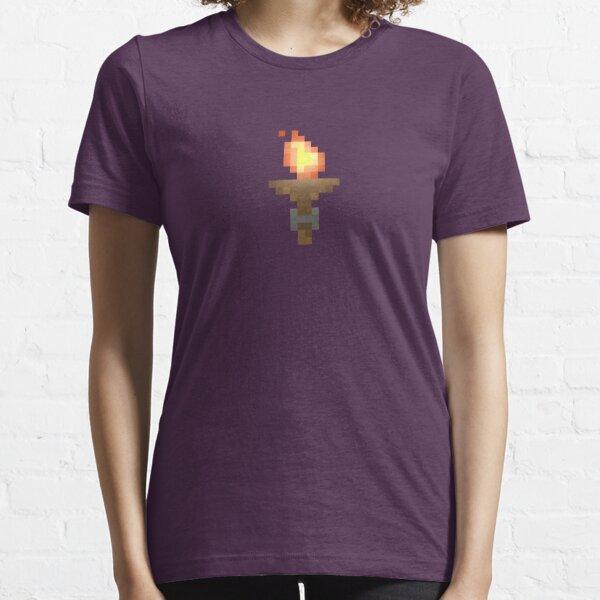 Pixel Art Dungeon Torch Essential T-Shirt
