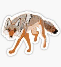 Pegatina Totem coyote full body