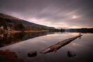 Loch Ard... two minute ciggy break!! by David Mould