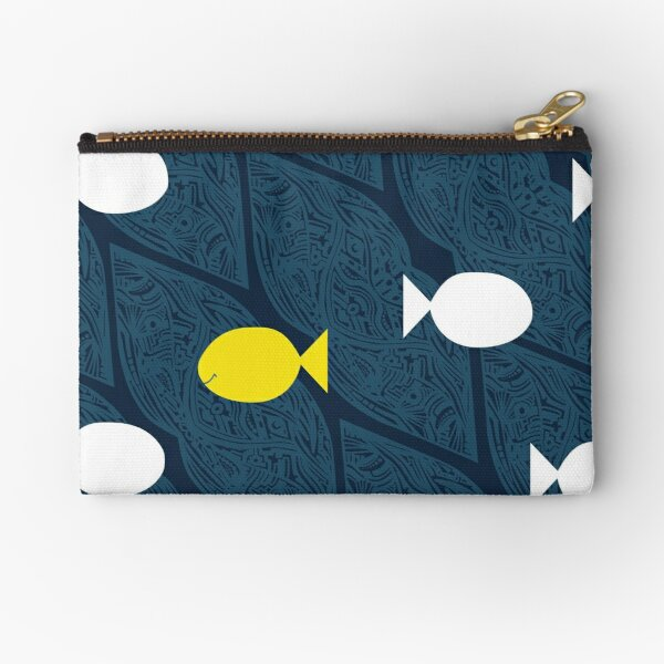 Be Different, Be Happy Zipper Pouch