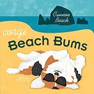 2019 Corgi Beach Bums  - Tri Color by PortlandCorgi