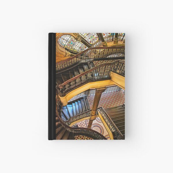 The Staircase Hardcover Journal