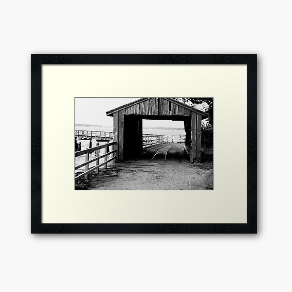 The Boat House Framed Art Print