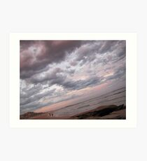 Riviera Visual - Cronulla Nites Art Print