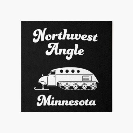 Northwest Angle, Minnesota Art Board Print