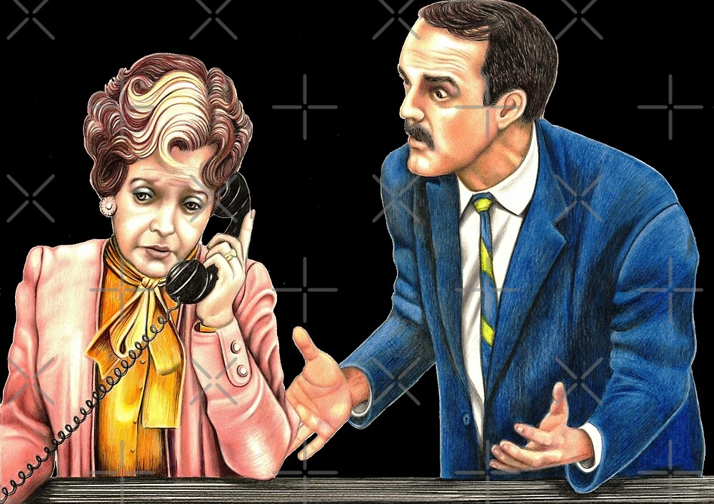 Fawlty Towers : Sybil and Basil by Margaret Sanderson