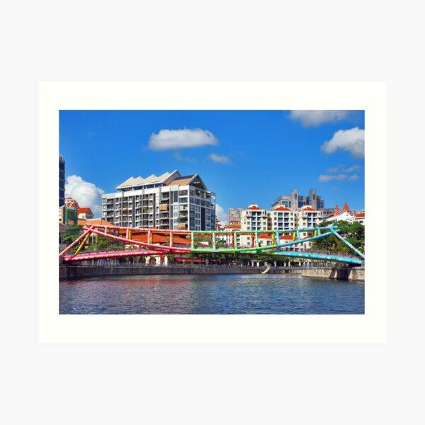 Bridges of Singapore 4 Art Print