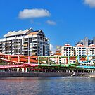 Bridges of Singapore 4 by Adri  Padmos