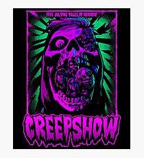Creepshow T shirt design Photographic Print