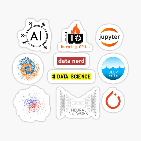 machine learning kit  Sticker