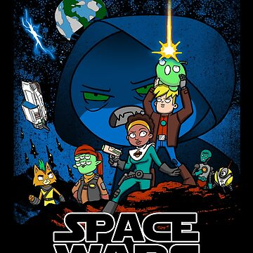 Space Wars by ursulalopez
