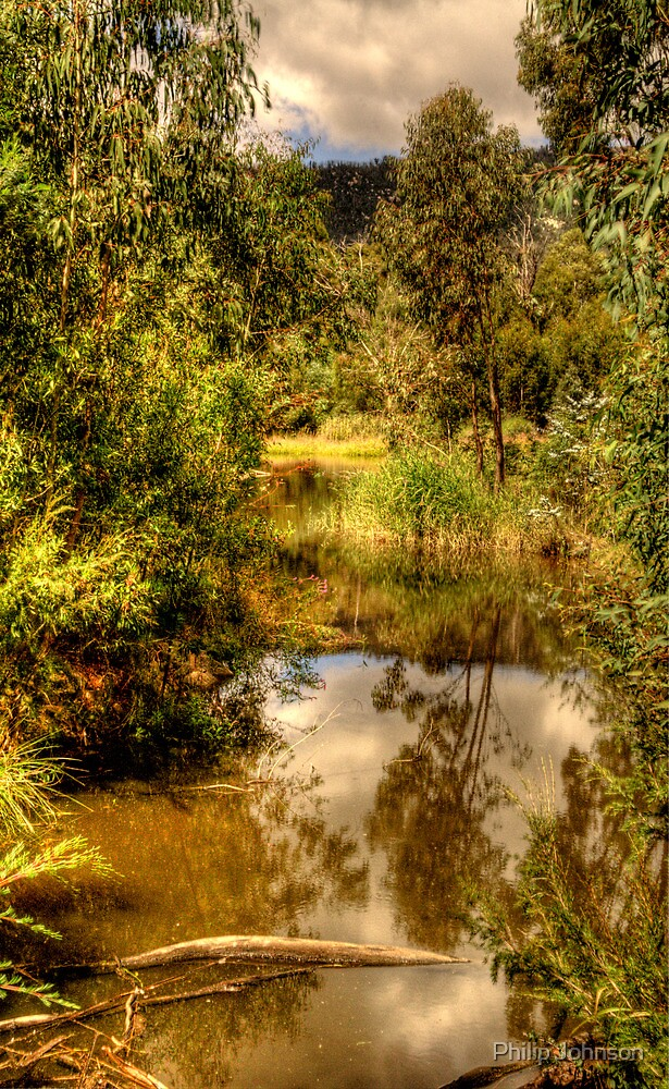 And His Ghost Maybe Heard - Tidbinbilla Sanctuary - The HDR Experience by Philip Johnson