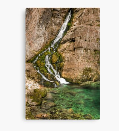 Savica Waterfall Canvas Print