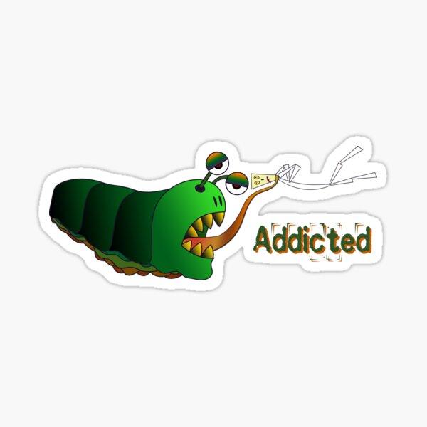 Addicted Slug Sticker