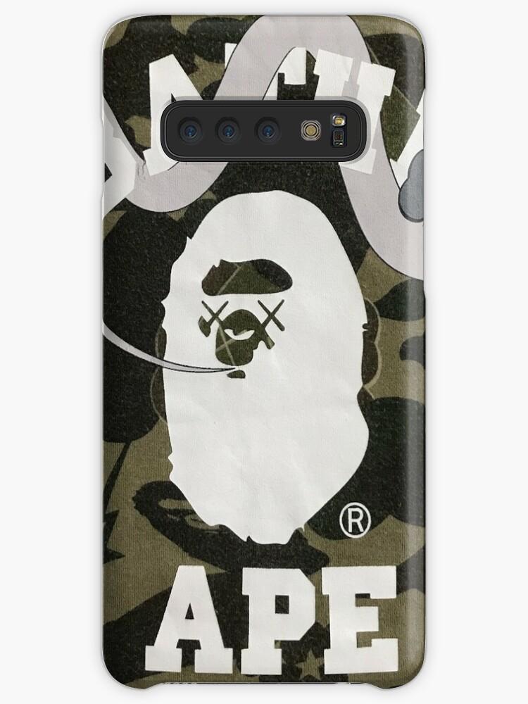 Bape X Kaws >> Bape X Kaws Cases Skins For Samsung Galaxy By Papisese Redbubble