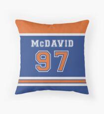 McDavid #97 Throw Pillow