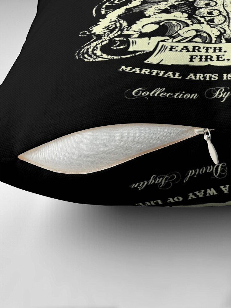Alternate view of Martial Arts Is A Way Of Life Throw Pillow