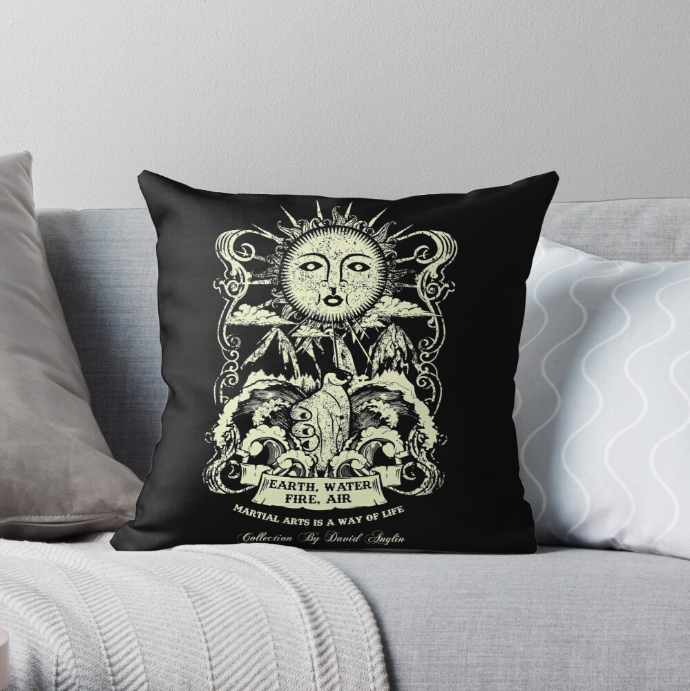 Martial Arts Is A Way Of Life Throw Pillow
