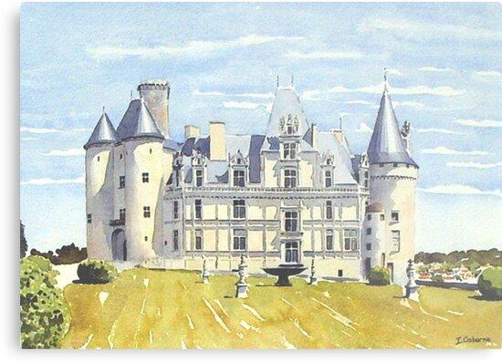 Château, La Rochefoucauld, France by ian osborne