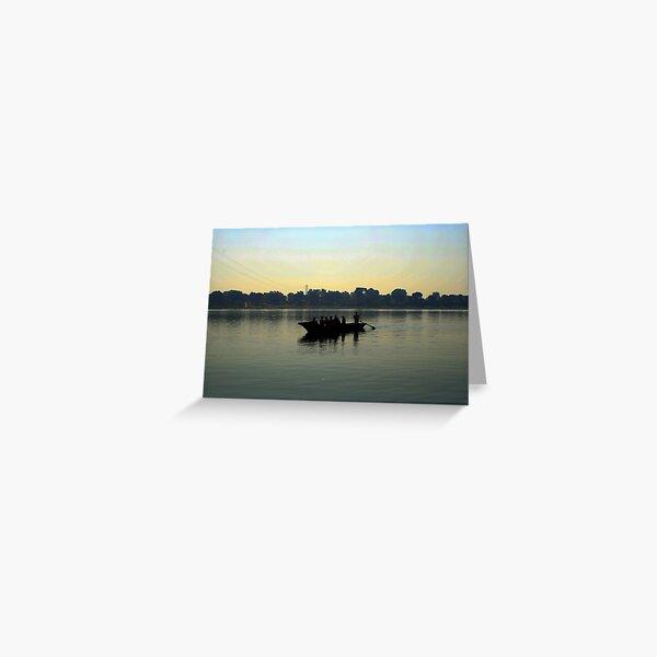 River Narmada Greeting Card