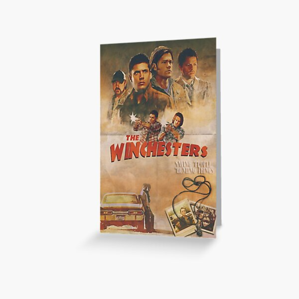 The Winchesters Greeting Card