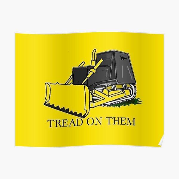 Don't Tread on Killdozer Poster