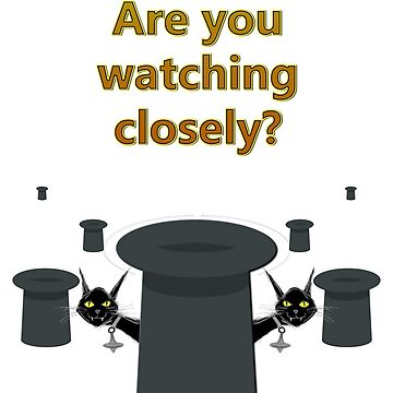 "The Prestige ""Are You Watching Closely"" by REDROCKETDINER"
