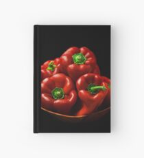 Capsicums  Hardcover Journal