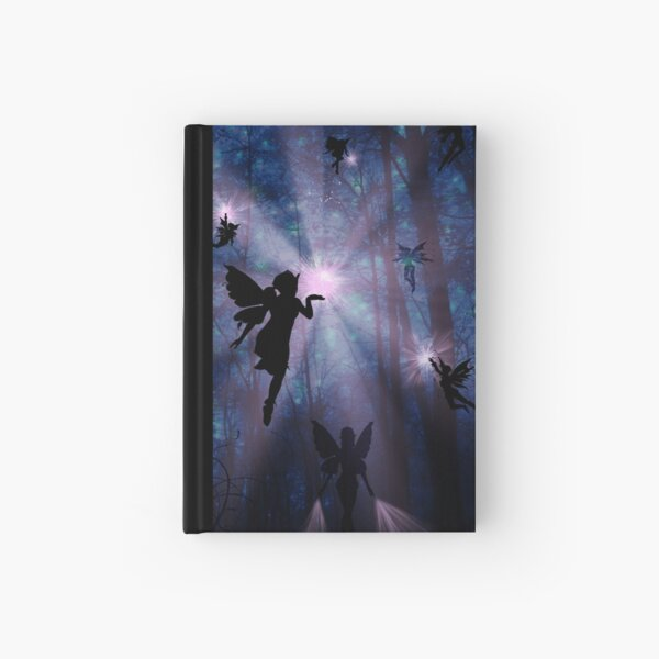 Shhhh.. Fairies working Hardcover Journal