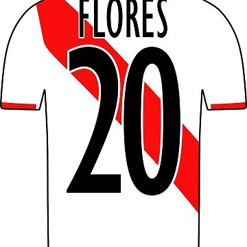 Peru Sticker – Flores 20 Peruvian Soccer Team Peruvian Flag Futbol Football by HallelujahTees