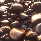 Beach Rocks, Point Saint George by Valarie Napawanetz