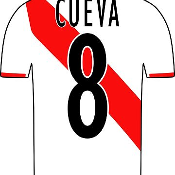 Peru Sticker – Cueva 8 Peruvian Soccer Team Peruvian Flag Futbol Football by HallelujahTees