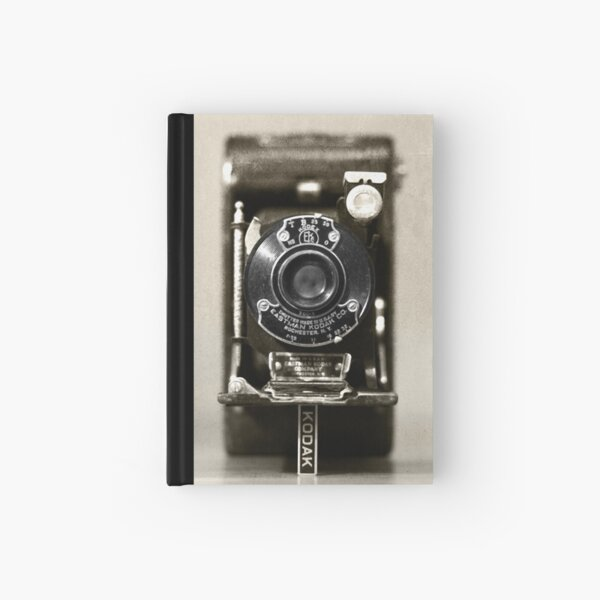Through the eyes of the past ... Hardcover Journal