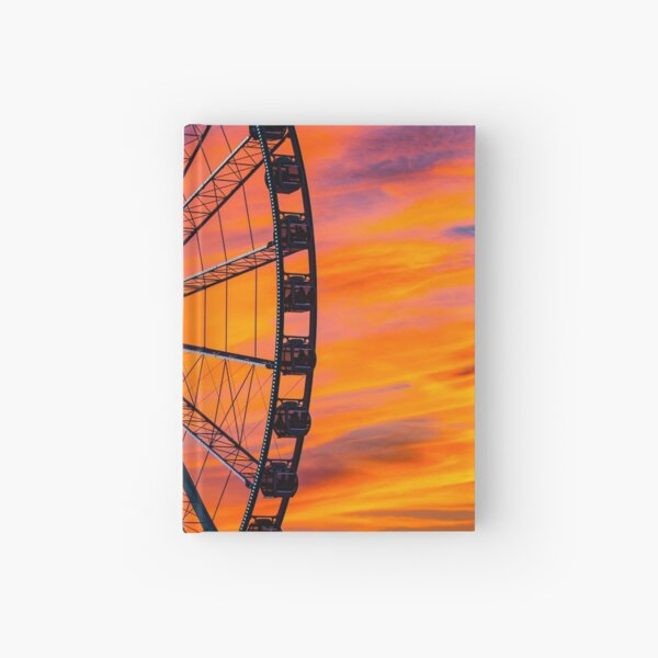 Capitol Wheel at National Harbor Hardcover Journal