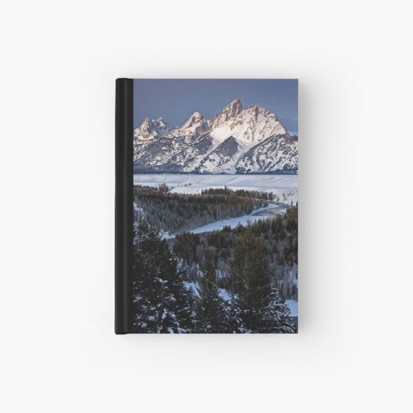 Snake River Overlook, Jackson Hole, Wyoming Hardcover Journal