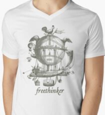 Freethinker Men's V-Neck T-Shirt