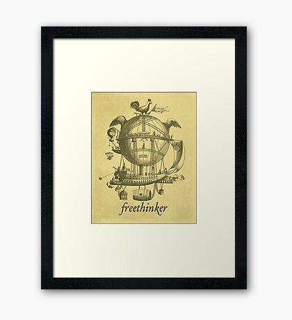 Freethinker Framed Print