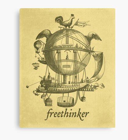 Freethinker Canvas Print