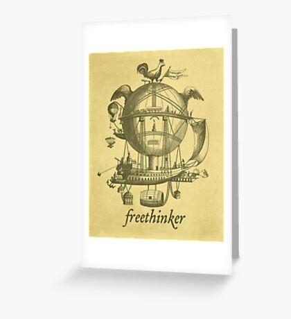 Freethinker Greeting Card