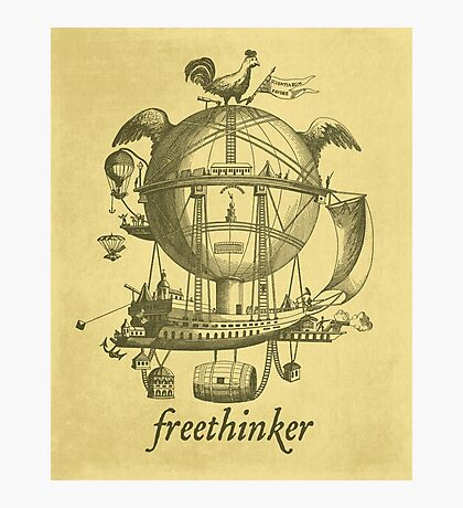 Freethinker Photographic Print