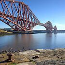 Forth Bridge, South Queensferry, Scotland by AlbaPhotography