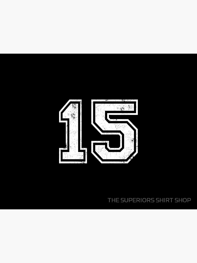 15 jersey jerseys number 15 jersey Sport   Art Board Print