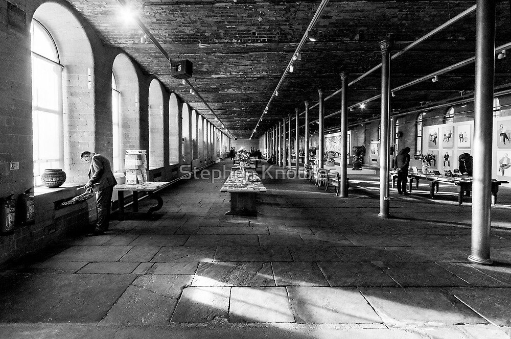 Salts Mill, Saltaire by Stephen Knowles