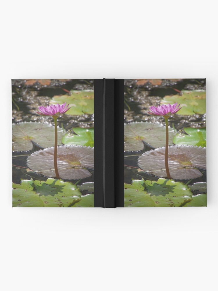 Alternate view of Water Lilly Hardcover Journal